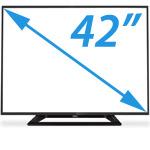 Velkost TV obrazoviek na prenajom
