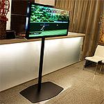 Moderná TV obrazovka a TV stojan